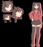 Rin Character Sheet Emiya-san