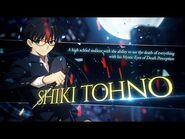 -Shiki Tohno- Battle Preview