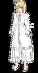 Saber one piece dress