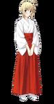 Saber Miko clothing