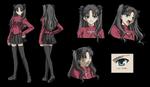 Rin studio deen character sheet