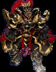 Lu Bu's Dark War God Super Frame