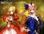 Castor and Saber from fate-extella