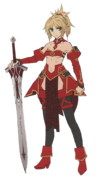 Saber of red armourless (1)