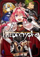Fate Apocrypha Manga Volume 4 Cover