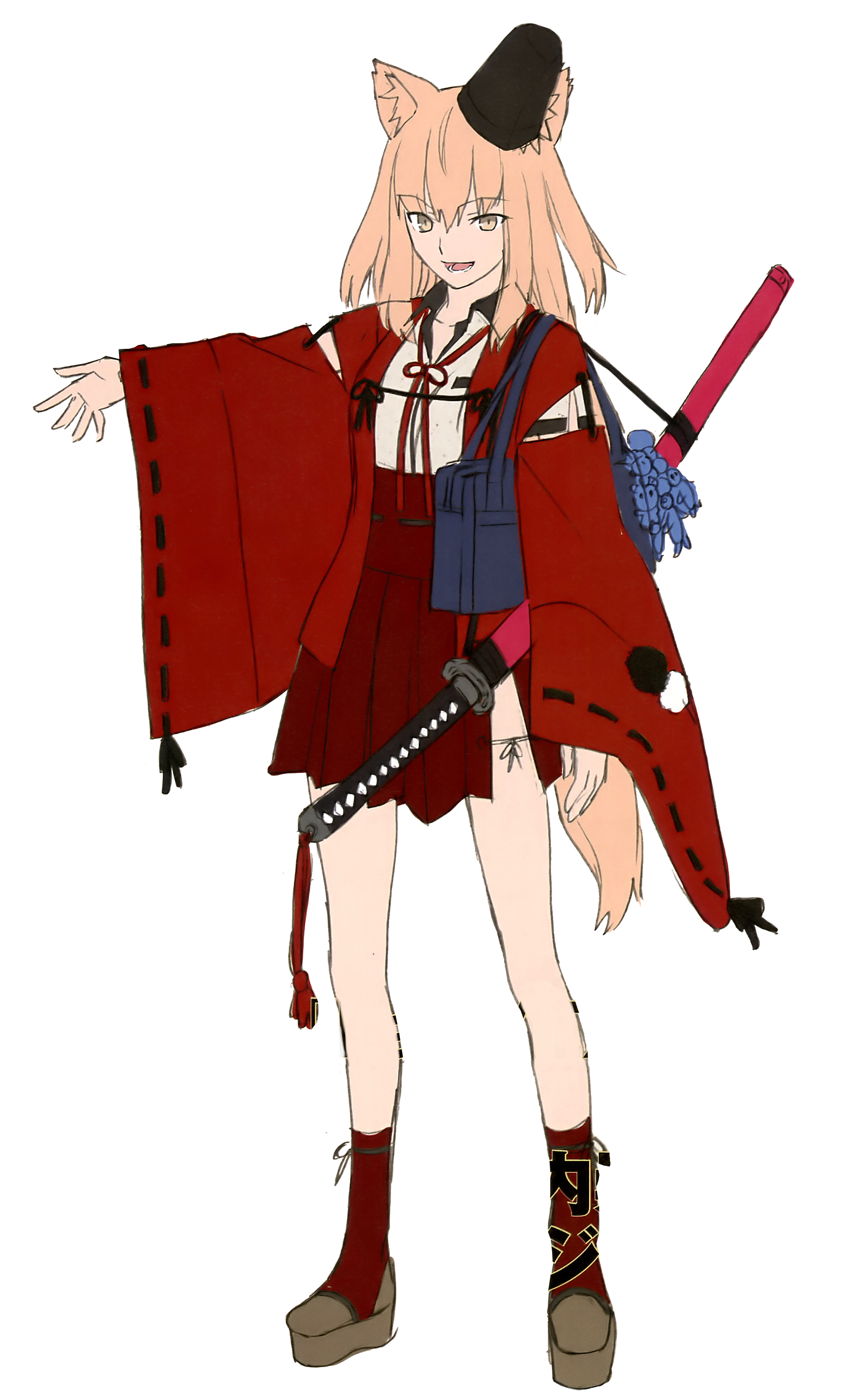 Сэйбер (Fate/Extra CCC Fox Tail)
