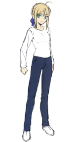 Saber new casual.png