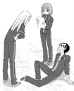 Kaede, Kane and Yukika Today's Menu for Emiya Family 2