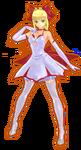 Fate Extella Neo Claudius's Pure Night Dress DLC