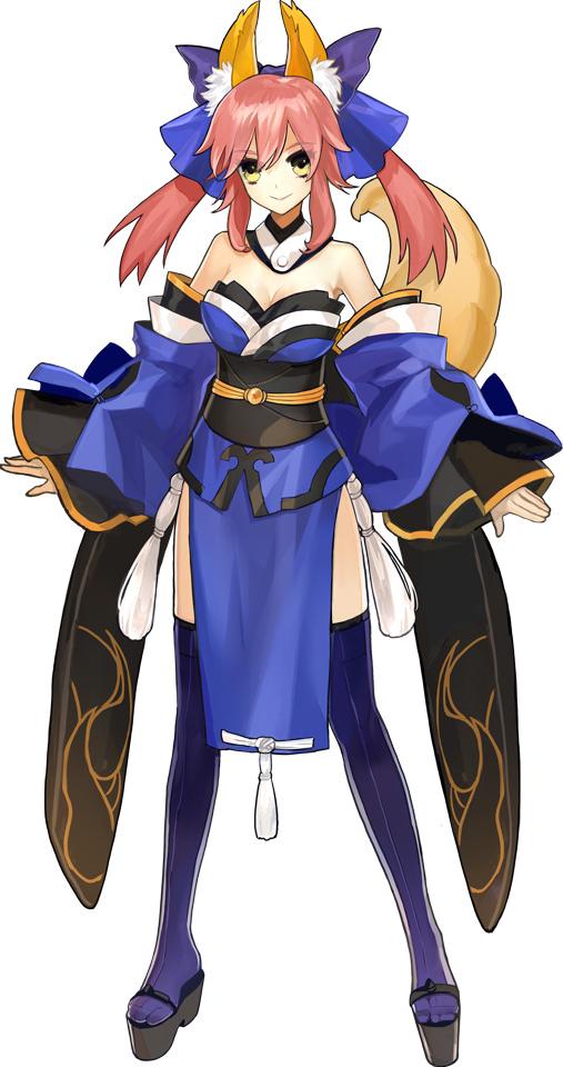 Caster (Fate/EXTRA, Servant sélectionnable)