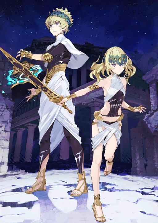 Saber (Fate/Grand Order - Dioscuri)