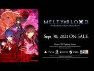 MELTY BLOOD- TYPE LUMINA Release Announcement Trailer
