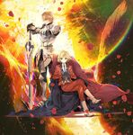 Leonardo and gawain fate etra last encore ending illustration 1