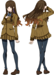 Female Hakuno Studio SHAFT FateExtra Last Encore Character Sheet