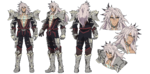 Saber of Black A-1 Pictures Fate Apocrypha Character Sheet1
