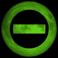 Type O green moon