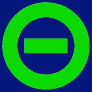 Logo dark blue bkgd