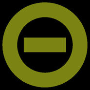 Olive green logo