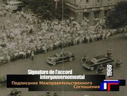 Signature accord intergouvernemental france union sovietique