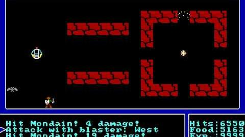 Ultima I The First Age of Darkness - Last Boss