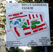 Bells Gardens Map