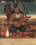 Cossack Mamai, late 18th - early 19th c