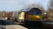 Langwathby Logs - Colas Class 60 Action.