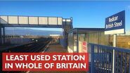 Redcar British Steel - Least Used Station in Britain