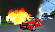 Fire f-150
