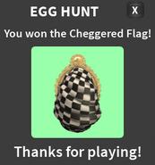 Cheggered Egg