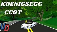 Ultimate Driving- The Koenigsegg CCGT - First Look