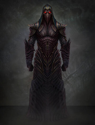 Chthon, Demon of the Darkhold - By: AlMaNeGrA