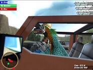 Off Road Velociraptor Driver's Seat