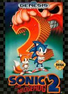 Sonic 2 US Cover