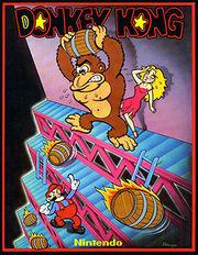 Donkey Kong's 1981 North American arcade flier
