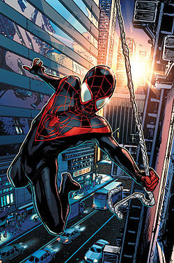 Spider-Man #18 2016 Series Miles Morales 2017 Black Cover