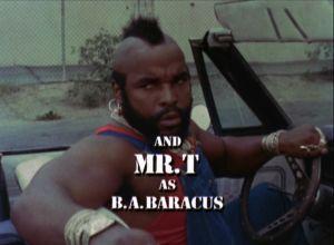 B. A. Baracus