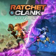 Ratchet and Clank - Rift Apart cover art