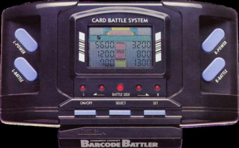 Barcode Battler