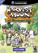 Harvest Moon - A Wonderful Life Coverart