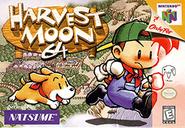 Harvest Moon 64 Coverart