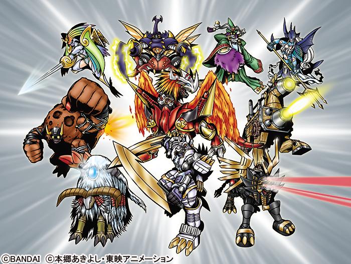 Ten Legendary Warriors