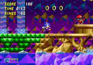 Hidden Palace Sonic 2