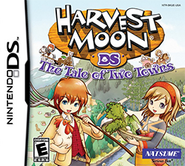 Harvest Moon - The Tale of Two Towns Coverart