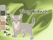 Tiny branch