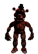 Withered Foxy Skin Pose 2