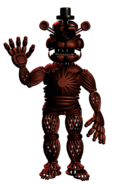 Withered Foxy Skin Pose 1