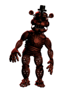 Withered Foxy Skin Pose 4