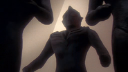 Tiga and his companions inside the pyramid in Tiga Gaiden