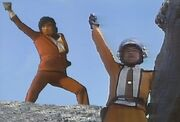 Takeshi Hongo and Shin Hayata in Ultraman vs. Kamen Rider.jpg